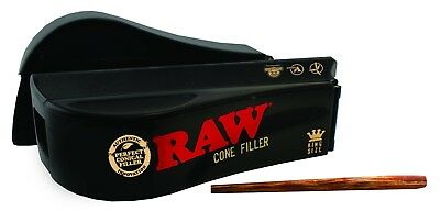 15  Raw Pre Rolled CONES RAW + rolling papers Loader shooter Filler  King Size 3
