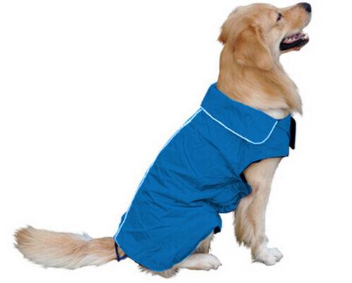 Dog Winter Waterproof Warm Fleece Jacket Coats Vest Sweater for Medium Large Pet 3