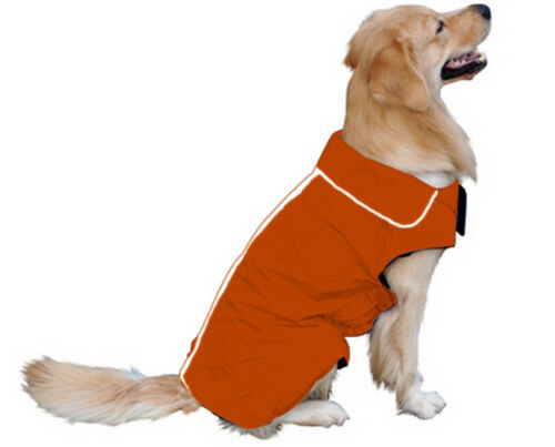 Dog Winter Waterproof Warm Fleece Jacket Coats Vest Sweater for Medium Large Pet 4