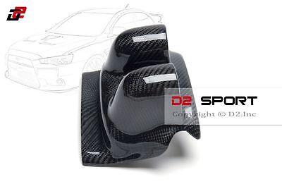 Steering Wheel Carbon Fiber Gauge Pod Dual for Mitsubishi Evolution EVO 7 8 /& 9