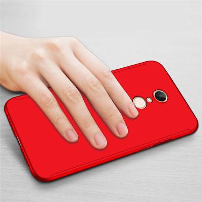 For Xiaomi Redmi 7 7A 6A 5 Note 7 6 5 Pro 360° Full Cover Case + Tempered Glass 10
