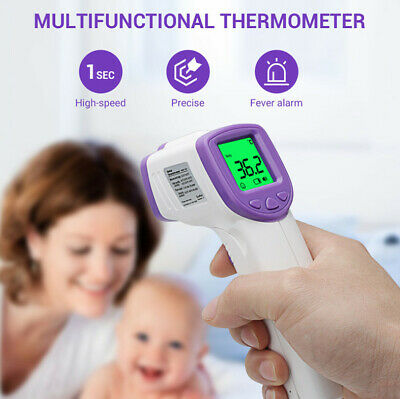 IR Infrared Digital Thermometer Non-Contact Forehead Baby /Adult Body Termometer 3