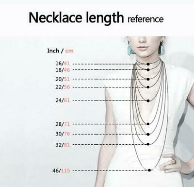 Fashion Men/Women 316L Stainless Steel Silver Multi-style Chain Necklace gift 4