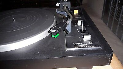 Lenco L-133 Giradischi Record Player Turnatable Revisionato Phono L133 2