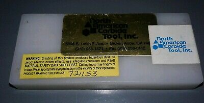 10 Pc. North American Carbide Tnmc 32Ngr 125 Grade Na3Certn 4