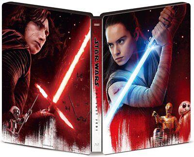 Neuf Star Wars The Last Jedi 4k Uhd Movienex Luxe Boîte 2018 From Japon F/S 5