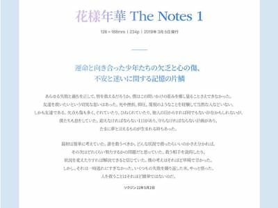 [BTS] - 花樣年華 THE NOTES SET(K/E/J)+Pre-Order Special Notes(Full Set Only)Official 7