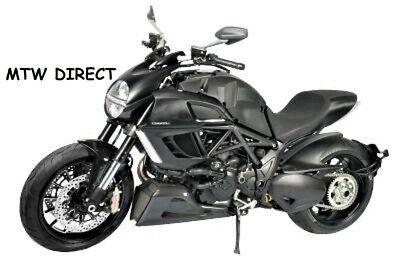 Ducati Diavel 2011 R/&G Left Replacement Aero Crash Protector CP286BL Black