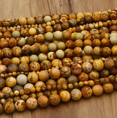 New Wholesale Natural Gemstone Round Spacer Loose Beads 4MM 6MM 8MM 10MM 12MM 7
