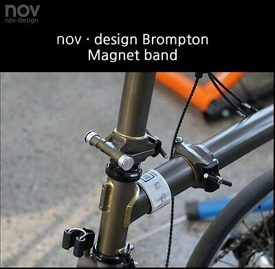 NEW!! nov Magnets for ankle band / BLACK, for bycle, cycling  [nov039] 4