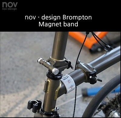 NEW!! nov Magnets for ankle band / SILVER, for bycle, cycling  [nov038] 4