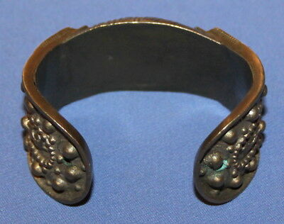 Antique Handcrafted Bronze Fertility Folk Bracelet