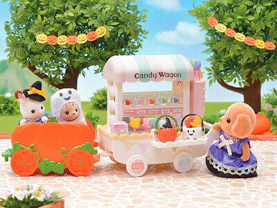 Sylvanian Families Calico Critters Halloween Baby Trick Or Treaters Set 3