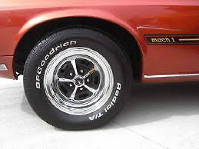 Magnum 500 Wheels >> Mustang Magnum 500 15 Wheel Paint Mask Stencil Kit 9 95 Picclick
