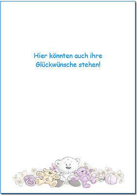 Gästebuch Taufe Bärchen Beige A5 Geschenk Baby Paten