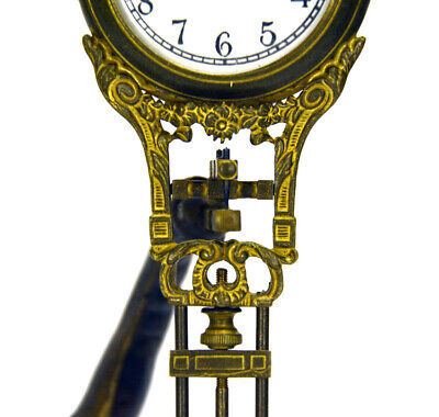 German Style Junghans Brass Elephant Figure 8 Day Swinging Swinger Clock 8