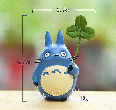 3pcs/Set Anime My Neighbor Totoro Resin Mini Figures Cosplay Model Doll 4