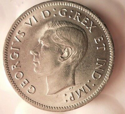 1941 CANADA 5 CENTS - Excellent Coin - FREE SHIPPING - Canada Nickel Bin