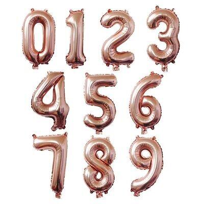 "16/"" Silver Gold Red Black Letter Number Foil Balloon Wedding Celebration Party"