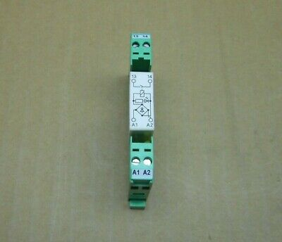 2 AVAIL 1 NEW PHOENIX CONTACT 2964432  EMG 10-REL//KSR-120// 1-LC RELAY MODULE