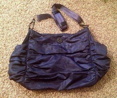 5c17eb139373 ... Lululemon Hot Yoga Hobo Bag - SEABED Large Gym Bag Yoga Tote Diaper READ  SHIP 2