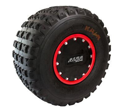 YFZ 450 YFZ 450R  Rear Wheels  Beadlock  10x8  3+5  4//115  Alba Racing  Blk blue