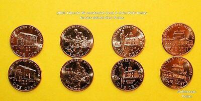 2009 COMPLETE 20 Coin P&D Uncirc/Satin + S Proofs Lincoln Bicentennial Cent Set 4