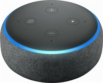 Amazon Echo Dot 3rd Generation w/ Alexa Voice Media Device - Charcoal 3