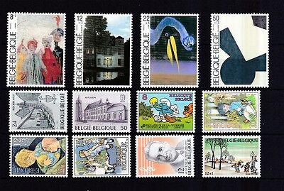 Belgien postfrisch Jahrgang 1984