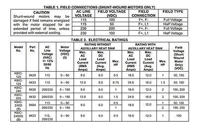 Kb electronics kbic 120 Manual on