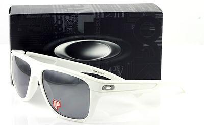 9ebcda42d70 1 of 4FREE Shipping New Authentic Oakley OO9199-27 Breadbox White Polarized  Sunglasses Iridium Lens