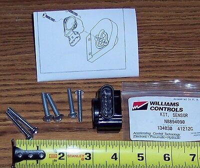 WILLIAMS CONTROLS THROTTLE Sensor Kit P/n N8894090 ~ 134030 ~ 134143