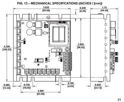 KB Electronics KBMG-212D DC motor control 8831 upc 024822088312 9