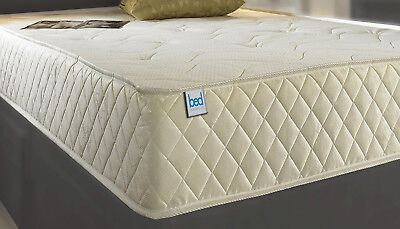 Orthopaedic Memory spring Foam New Quilted Sprung Mattress 3ft 4ft6 5ft Matress 2