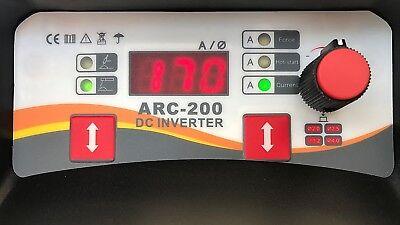 200Amp Mma/Lift Tig Dc Inverter Welder Duty Cycle 60% Welding Machine  + Mma Kit 3