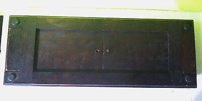 Antique Walnut Victorian Slide Book Shelf 4