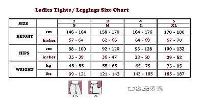 Womens Opaque TIGHTS Soft Microfiber 100 Denier Pantyhose Sizes S-M-L Colours 2