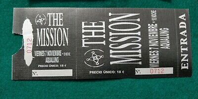 THE MISSION  UNUSED TICKET  Spain FREE SHIPPING WORLDWIDE WITH TRACKING 2