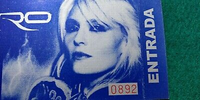 DORO CHALICE  UNUSED TICKET Spain FREE SHIPPING WORLDWIDE WITH TRACKING 2