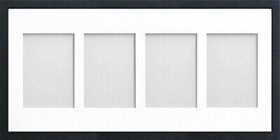 Frame Company Jellybean Black Wooden Multi Aperture Collage Photo frame & Mount 5