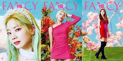 US SHIPPING Twice FANCY YOU Album B Ver. CD+Poster+Book+Card+etc+Gift 7