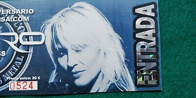 DORO MESSIAHS KISS UNUSED TICKET Spain FREE SHIPPING WORLDWIDE WITH TRACKING 3