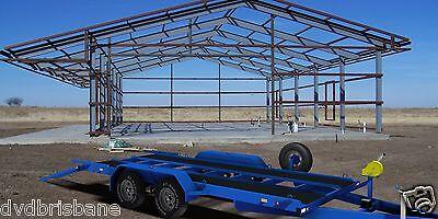 Trailer Plans- 3500KG FLATBED CAR TRAILER PLANS- 4800x1760mm- PRINTED HARDCOPY 10