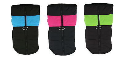 Large Dog Jacket Padded Waterproof Pet Clothes Warm Windbreaker Vest Coat Winter 4