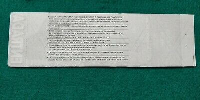 UDO 2002 UNUSED TICKET Spain FREE SHIPPING WORLDWIDE WITH TRACKING 5
