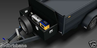Trailer Plans - 3400kg HYDRAULIC TIPPING TRAILER PLANS -PLANS ON USB Flash Drive 6
