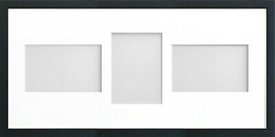 Frame Company Jellybean Black Wooden Multi Aperture Collage Photo frame & Mount 8