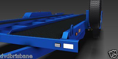 Trailer Plans- 3500KG FLATBED CAR TRAILER PLANS- 4800x1760mm- PRINTED HARDCOPY 6