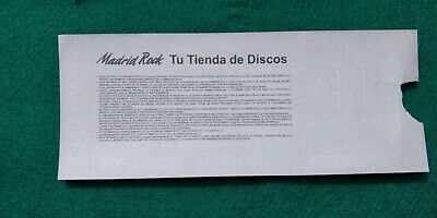 THE MISSION  UNUSED TICKET  Spain FREE SHIPPING WORLDWIDE WITH TRACKING 5