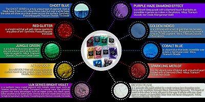 BLACK DIAMOND Mica Powdered Pigment -- Variety Pack #7 10